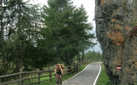 Biking the Alps