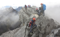 Mount Carstensz Pyramid summit