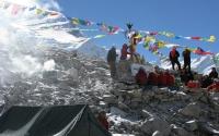 Mount Cho Oyu Base Camp