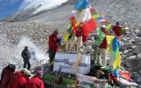 Mount Cho Oyu Base Camp Puja Ceremony