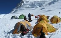 Mount Cho Oyu camp 1