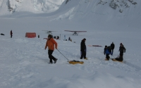 Mount Denali base camp