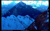 Mount Everest shadow