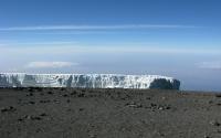 Mount Kilimanjaro glacier