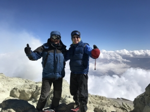 Mount Damavand summit