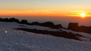 Mount Kilimanjaro sunrise