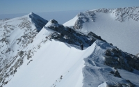 Mount Vinson ridge to summit