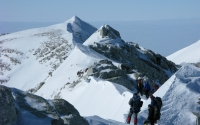 Mount Vinson final ridge to summit