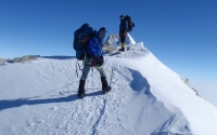 Mount Vinson near summit