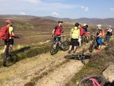 Mountain Biking across Scotland coast to coast