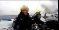 Sailing VOR60 across the North Atlantic