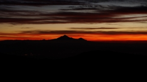 Sunrise on Pico de Orizabo