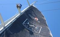 Esprit de Corps sailing North Atlantic